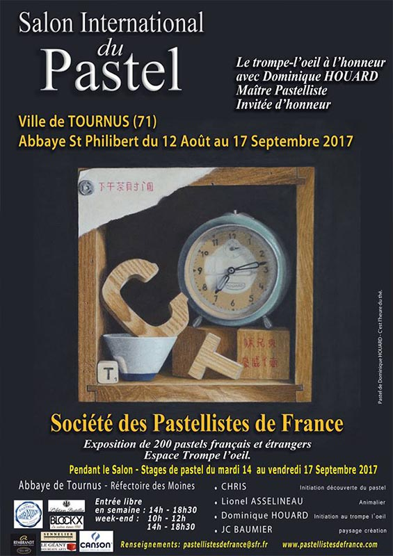 Salon du pastel de Tournus
